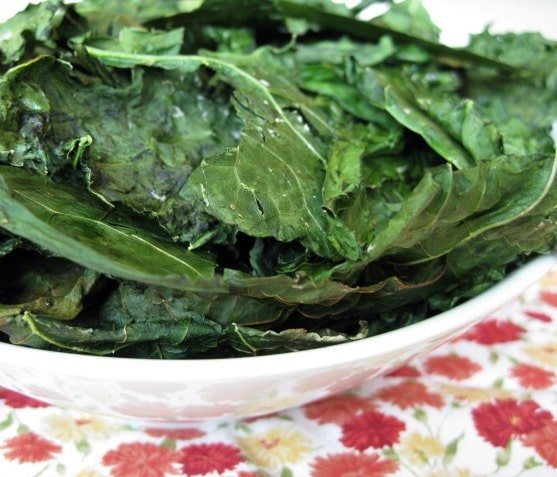 Weight Watchers Kale Chips from www.everydaymaven.com