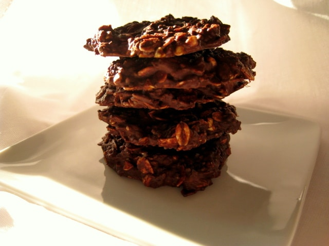 Vegan No Bake Cookies Chocolate from www.everydaymaven.com