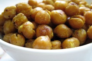 Thai Spiced Roasted Chickpeas