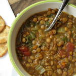 Lentil Soup {Slow Cooker}