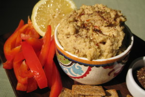 Half the Fat, Double the Serving Hummus
