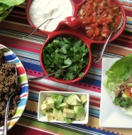 Beef Taco Lettuce Wraps from www.everydaymaven.com