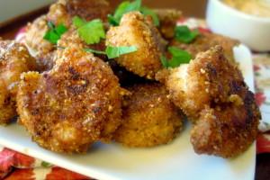 5 Minute Appetizer: Crispy Old Bay Shrimp