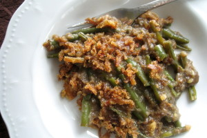 The Ultimate Vegan Green Bean Casserole