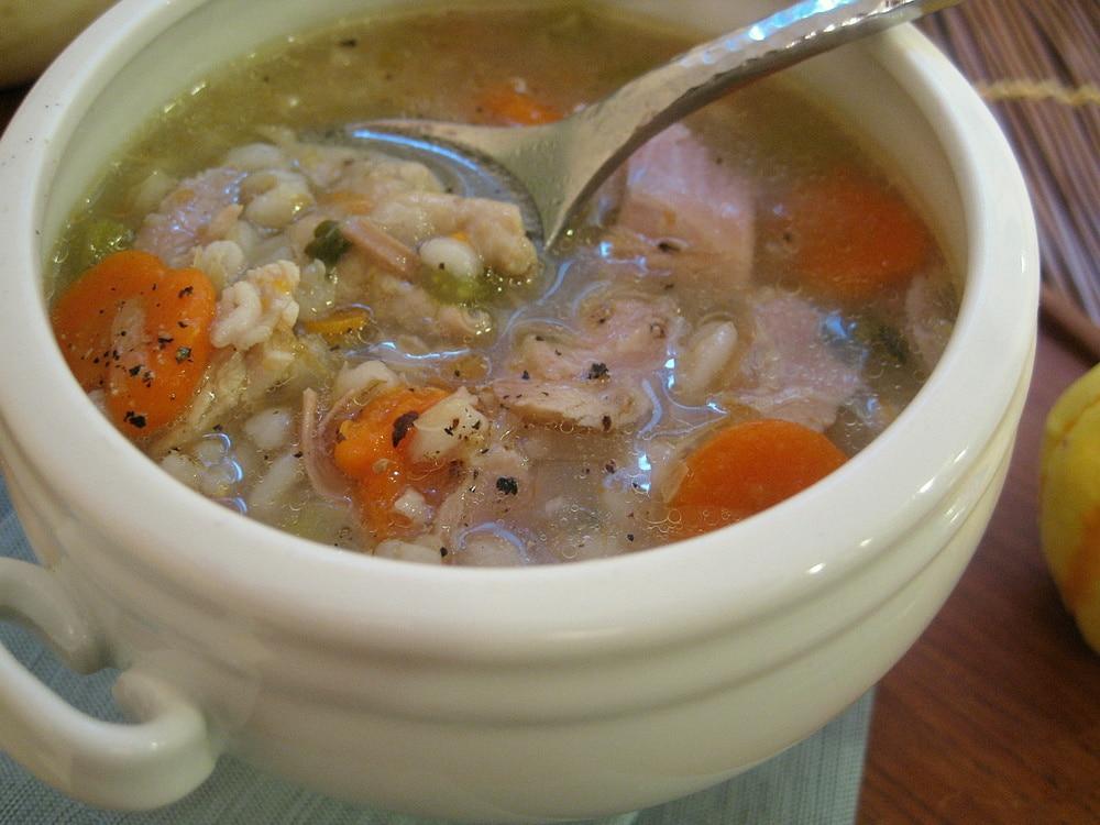 Перловый суп рецепт с фото с огурцами