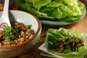 Asian Turkey Lettuce Wraps from www.everydaymaven.com