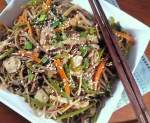 Weight Watchers Soba Noodles from www.everydaymaven.com
