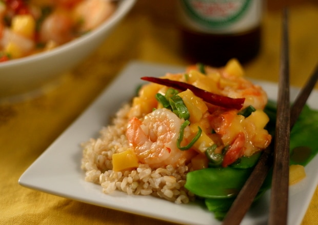 Paleo Mango Shrimp Recipe from www.everydaymaven.com