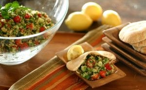 Quinoa Tabbouleh from www.everydaymaven.com