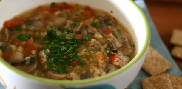 Weight Watchers Bulgur Soup from www.everydaymaven.com