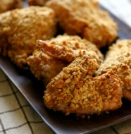 Oven Fried Chicken from www.everydaymaven.com