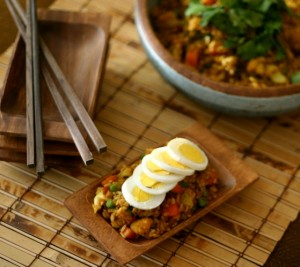 Curry Fried Rice from www.everydaymaven.com