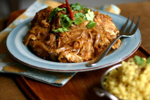 Curry Chicken {Slow Cooker}