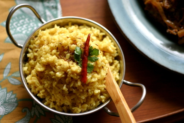 Spiced Coconut Rice from www.everydaymaven.com