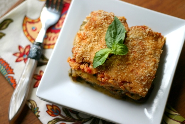 Eggplant Casserole from www.everydaymaven.com