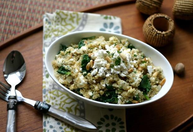 Quinoa Spanakopita from www.everydaymaven.com