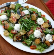 Eggplant Parmesan Salad from www.everydaymaven.com