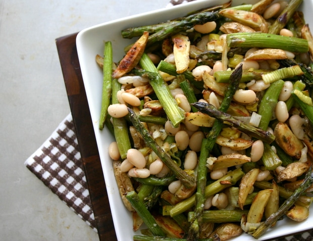 ... Matters Project: Roasted Asparagus, Baby Potato + White Bean Salad