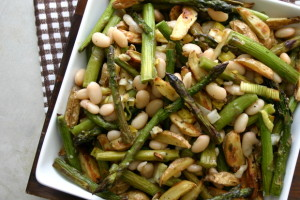 The Food Matters Project: Roasted Asparagus, Baby Potato + White Bean Salad