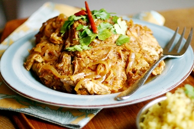 Slow Cooker Chicken Curry from www.everydaymaven.com