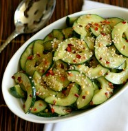 Miso Cucumber Salad from www.everydaymaven.com