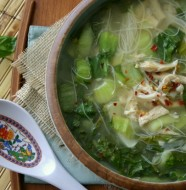 Thai Chicken Noodle Soup from www.everydaymaven.com