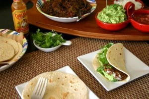 Weeknight Black Bean Tacos