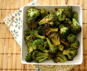 Spicy Sweet Roasted Broccoli from www.everydaymaven.com