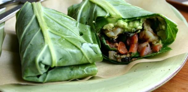 Collard Greens Burritos from www.everydaymaven.com