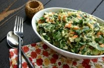 Collard Slaw from www.everydaymaven.com