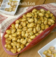 Curried Pistachios from www.everydaymaven.com