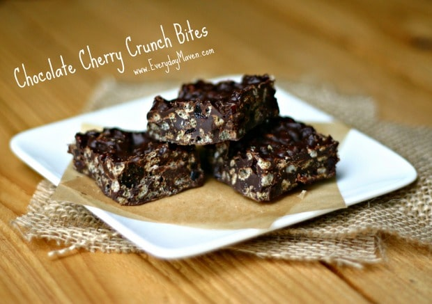Chocolate Cherry Bites from www.everydaymaven.com