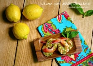 Minted Chimichurri Sauce from www.everydaymaven.com