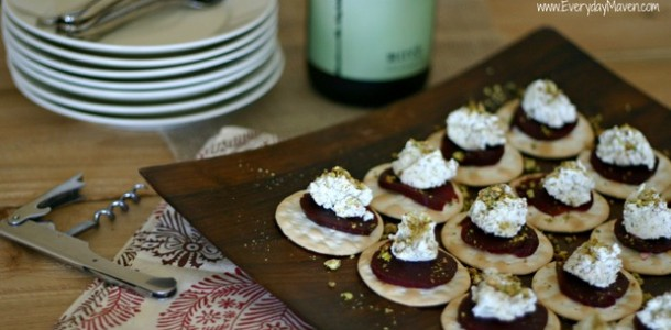 The Food Matters Project: Pistachio Goat Cheese and Beet Bites