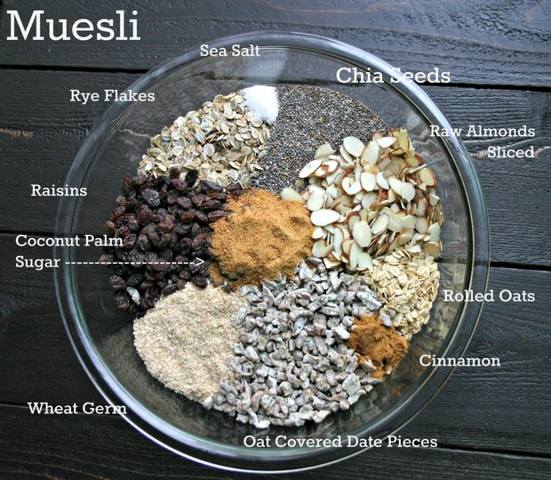 Weight Watchers Muesli Recipe