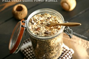 Full Until Lunch Power Muesli