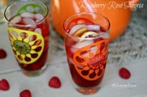 Raspberry Rosé Sangria from www.everydaymaven.com