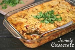 The Food Matters Project: Chicken Tamale Casserole