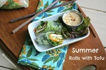 Tofu Summer Rolls from www.everydaymaven.com
