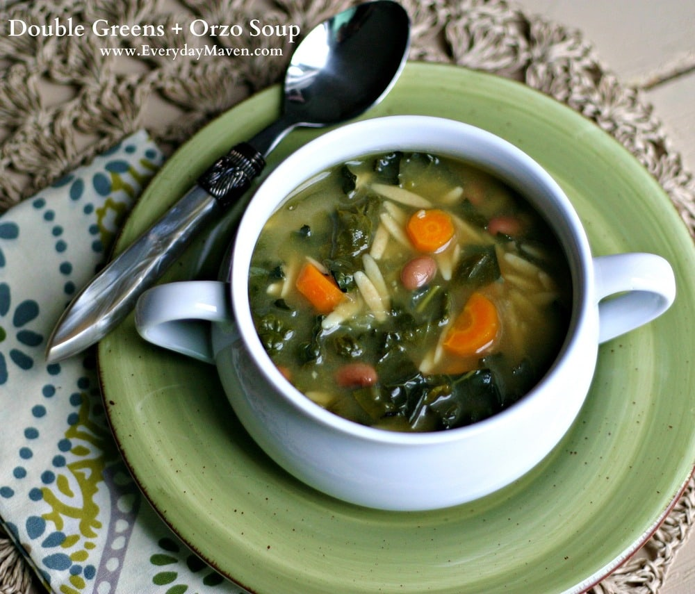 Orzo Soup from www.everydaymaven.com