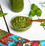 Lightened Up Basil Pesto from www.everydaymaven.com