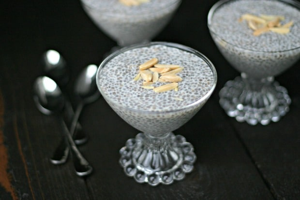Triple Almond Weight Watchers Chia Pudding