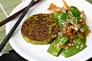 The Food Matters Project: Garlicky Edamame Cakes
