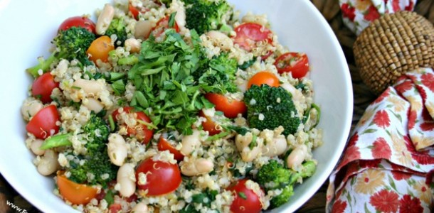Quinoa Salad with Vegetables