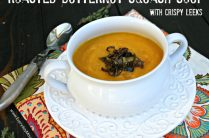 Roasted Butternut Squash Soup from www.everydaymaven.com
