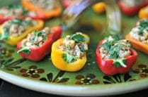Stuffed Sweet Baby Peppers from www.everydaymaven.com