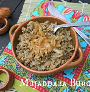 Mujaddara Burghul from www.everydaymaven.com
