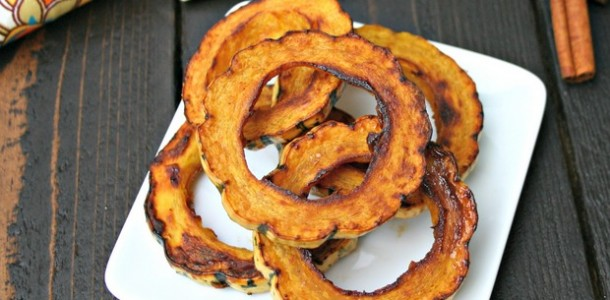 Roasted Delicata Squash from www.everydaymaven.com