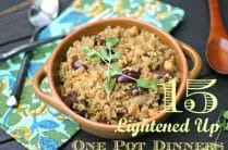 Healthy One Pot Dinners from www.everydaymaven.com