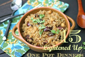 15 {Lightened Up} One Pot Dinners